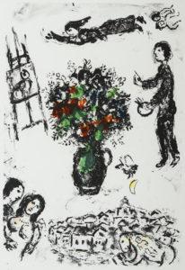 Bouquet sur la ville, 1983