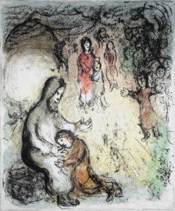La bénédiction de Jacob, 1983