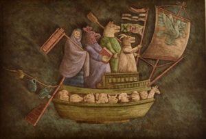 "La barca de ""no sé"", 1979"