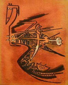 Seour de la grazelle, 1974