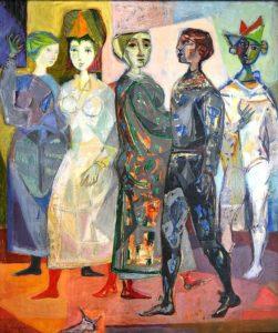 Los cinco músicos, 1953