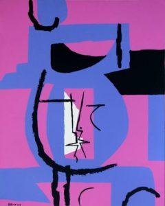 Figura en violeta, 1970