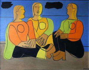 The three ladies, 1974