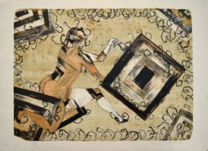 Mujer con alacranes, 1985