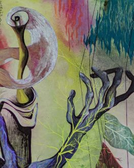 Green Harpist, John Banting