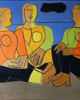 Las tres damas, Luis Seoane