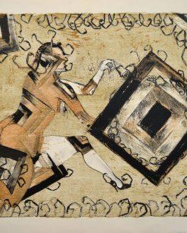 Mujer con Alacranes