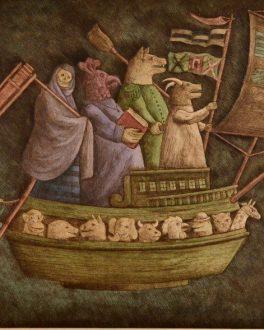 Obra Gráfica América Latina||||Seoane - Tres Figuras||Luis Solari - Al que le caiga el burro que se lo ponga|Luis Solari - Previo